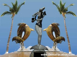 Beautiful Beachside Sculptures - Cancun