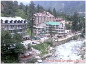 Hill Station of Manali in India