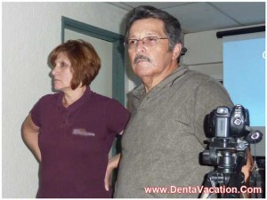 A dentist in Mexico