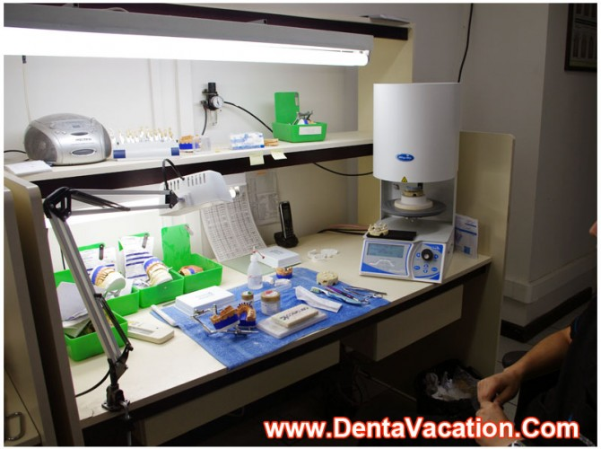 Dental Lab in a Clinic in Costa Rica