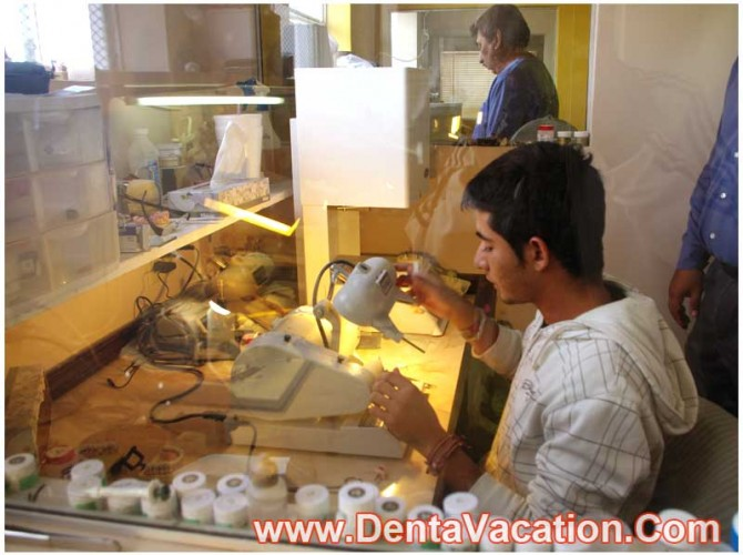 Dental Lab in a Clinic in Mexico