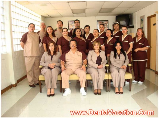 Tijuana Dental Clinic Staff
