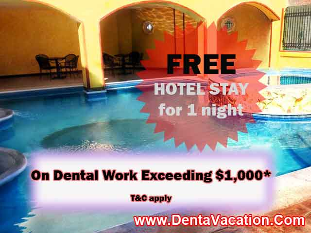FREE HOTEL STAY Los Algodones - Mexico
