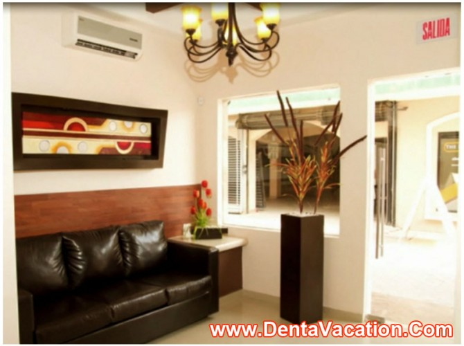 Waiting Area - Dental Clinic in Mexico