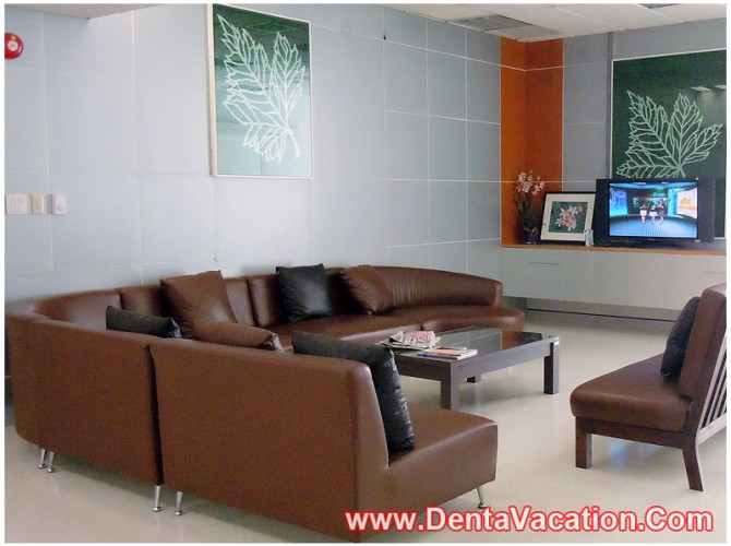 Waiting Area in Hospital for Dental Treatments - Thailand