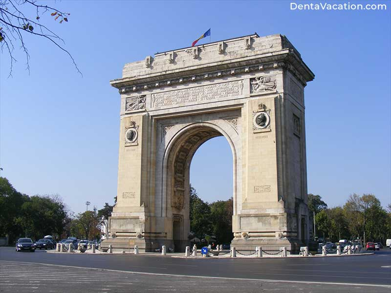 Arc de Triomphe | Dental Tourism in Romania