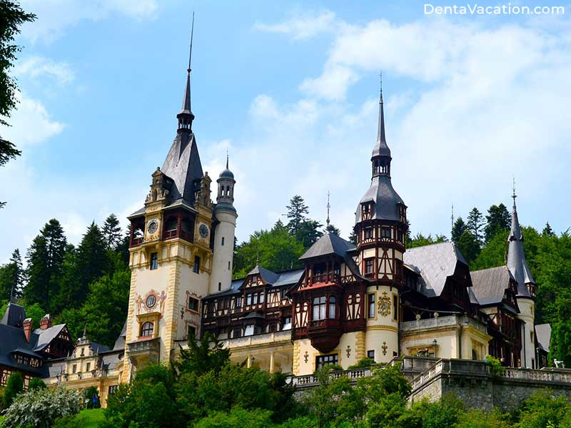 Peles Castle | Dental Tourism in Romania