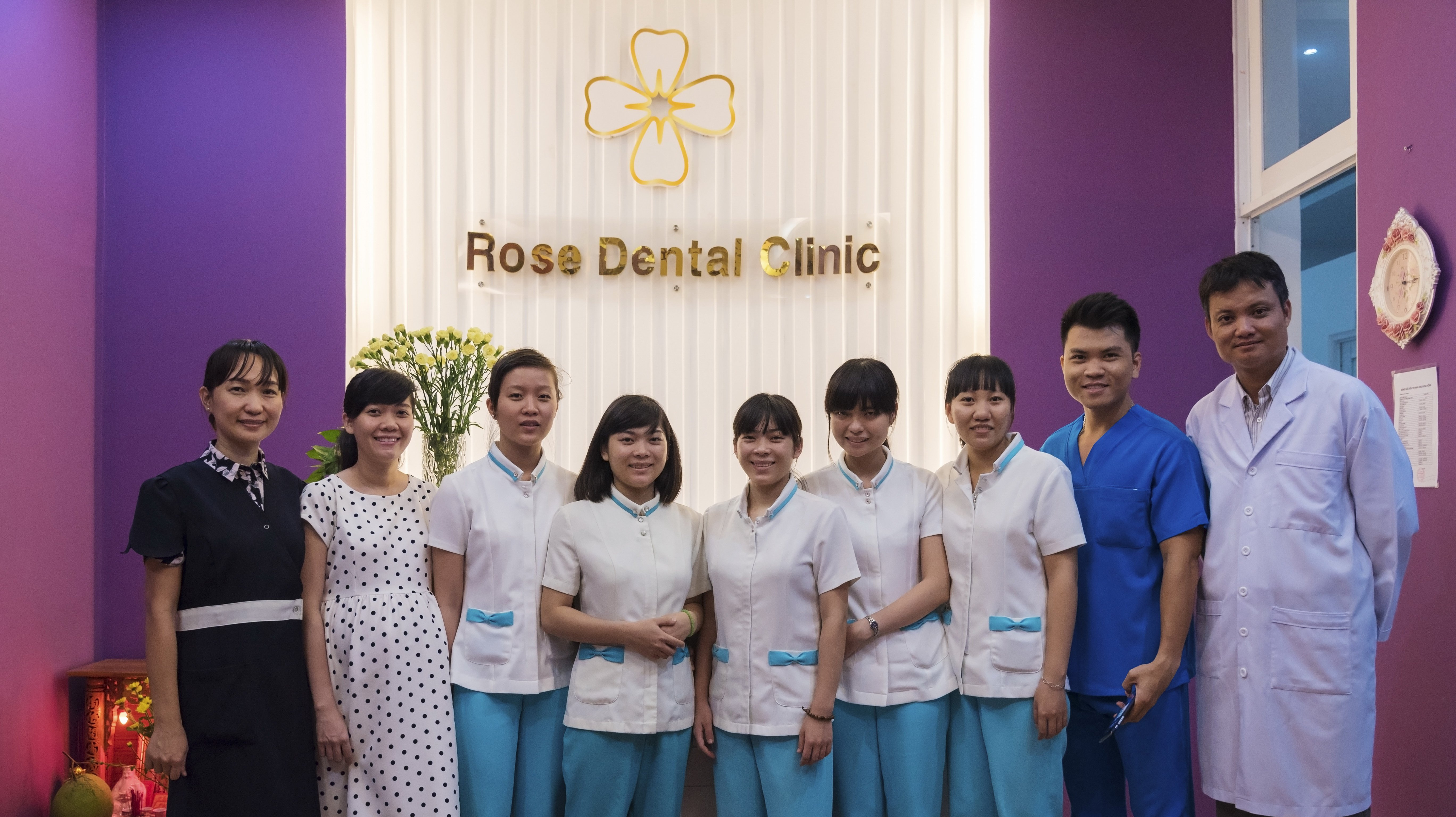 Rose Dental Team | Dental Work in Ho Chi Minh City