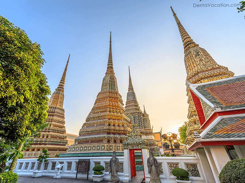 Wat Phra Temple- Dental Tourism in Bangkok