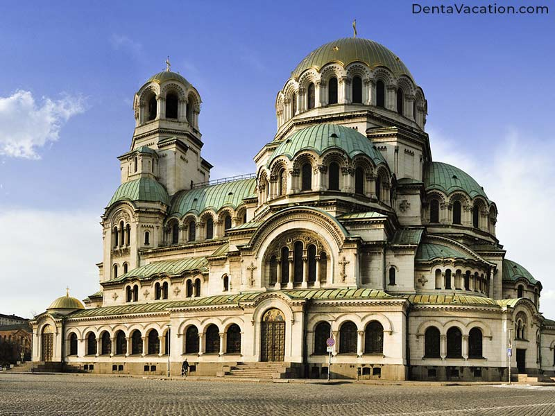 Alexander Nevsky Cathedral- Dental Tourism in Bulgaria
