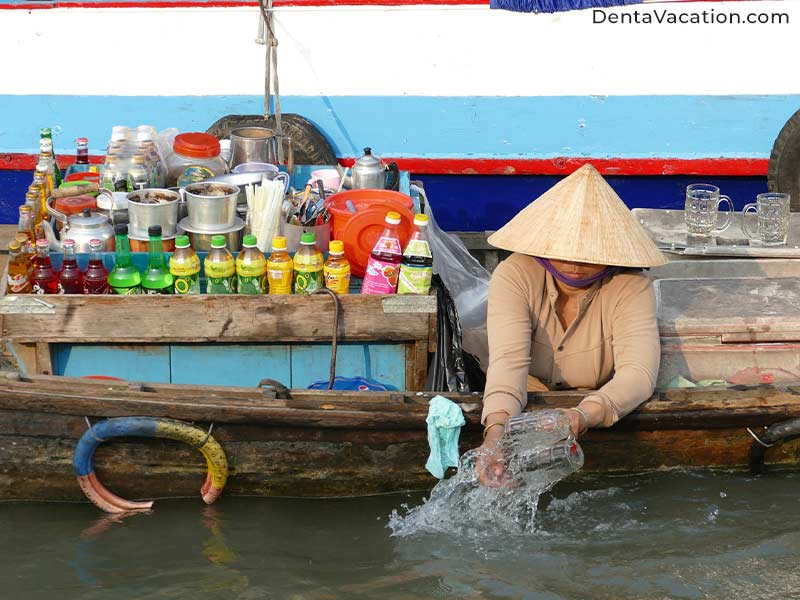 Floating Market @Mekon Delta | Dental Tourism in Ho Chi Minh City