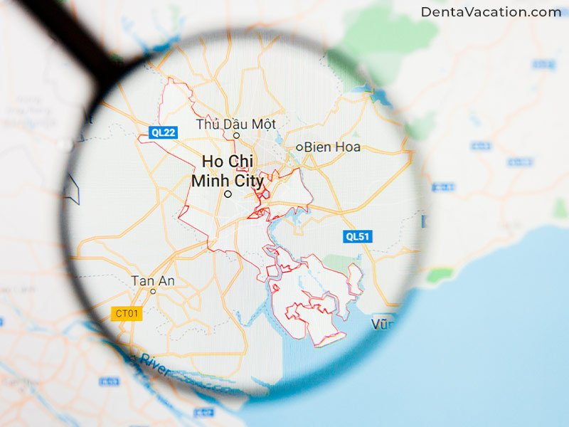 Map | Reach Ho Chi Minh City