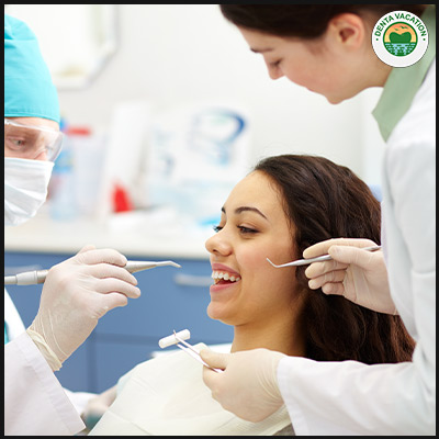 Dentists involved in full mouth restoration
