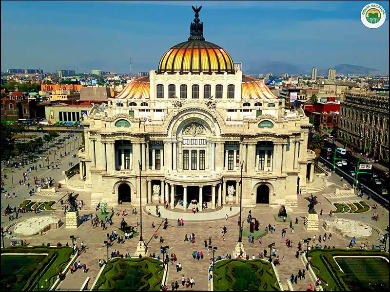 Palace of Fine Arts   Mexico City Tourist Attractions