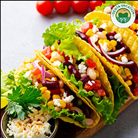 Veggie Tacos   Mexican Dish